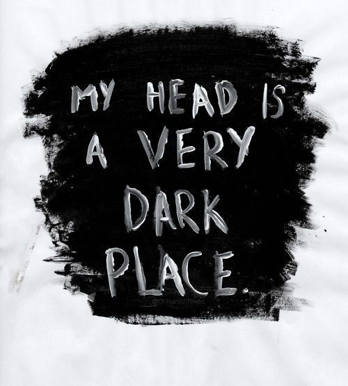 Dark enough to lose yourself in... try being there for 5 minutes and you'll see why being afraid of the dark simply isn't an option for me.