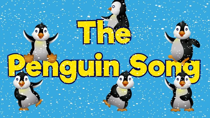 Penguin Song | Penguin Dance Gross Motor Activities- MAKE PENGUIN HATS, HAVE A PENGUIN DAY WITH A BOOK