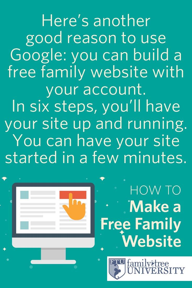 how to create your family tree