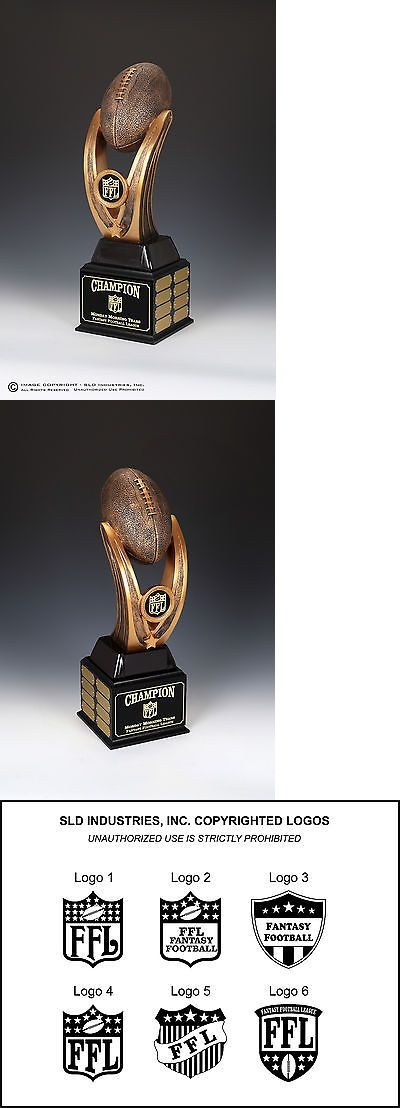 Other Football 2024: Fantasy Football Trophy, The End Zone, 16 Year Perpetual, 20 Tall Massive -> BUY IT NOW ONLY: $89.9 on eBay!