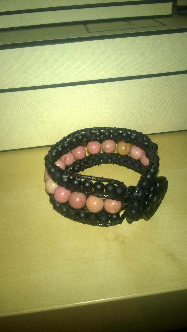 Unakite bracelet