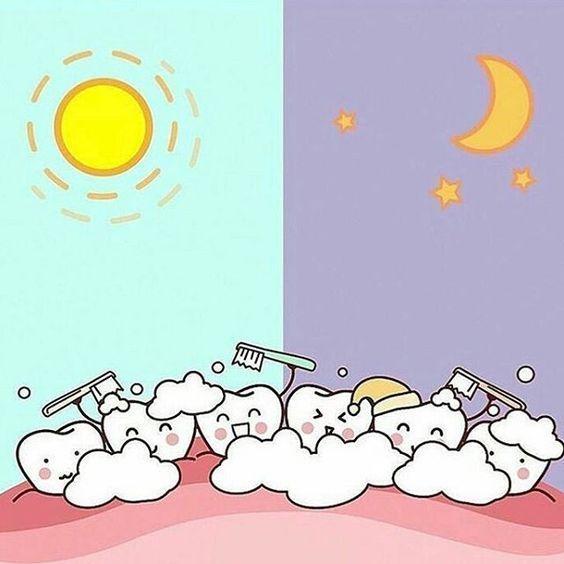 Не забываем #чистить_зубы ! Утром и вечером!