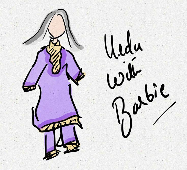 Urdu with Barbie