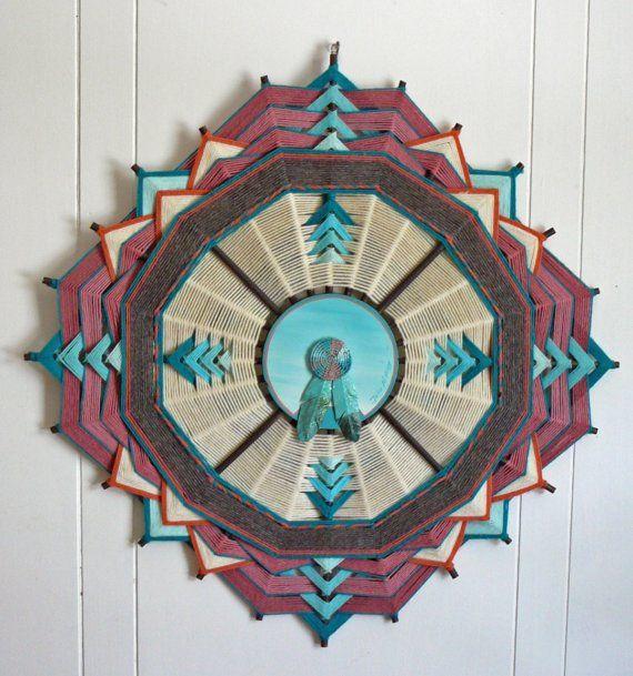 A vintage Native American made Ojo de Dios by by JaysMandalas