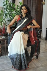 ANGAMI TY DY Saree by Byloom