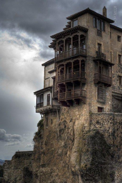 Cuenca, Spain. No martinis on THIS veranda....