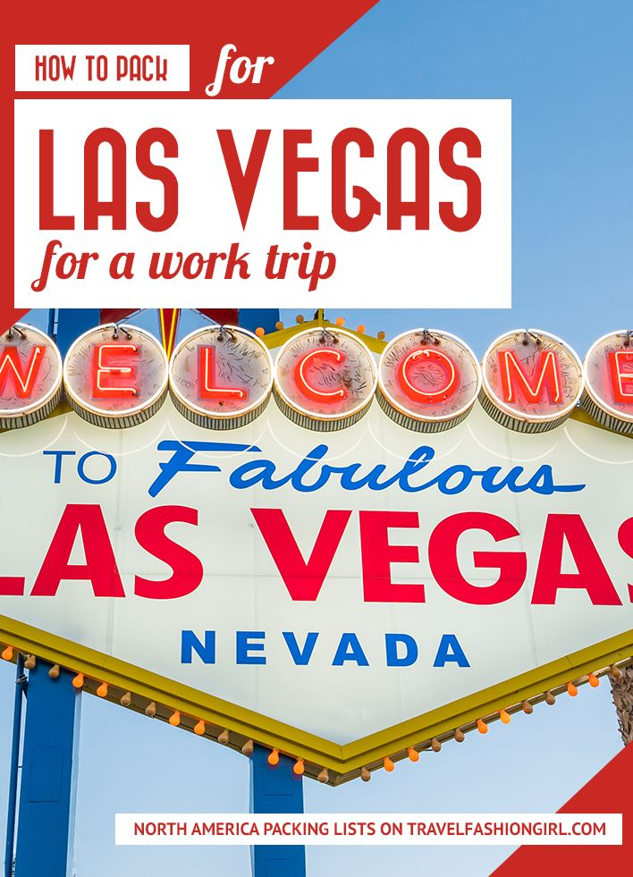Vegas is a major destination for work events and trade shows. If you're wond…