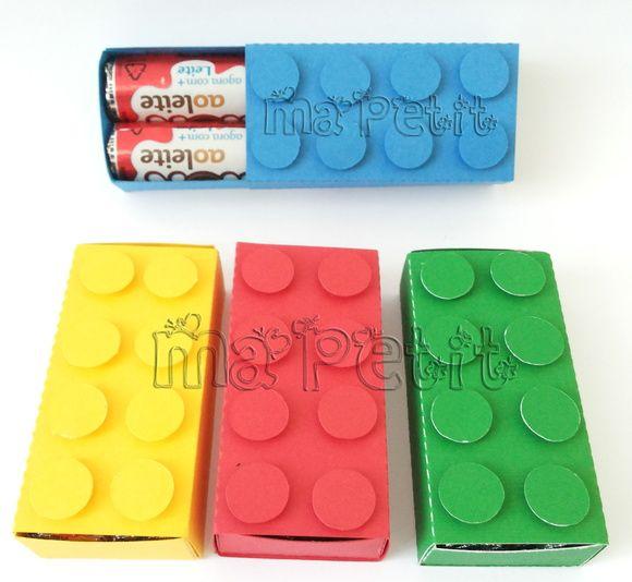 Caixa para Baton Lego | Ma Petit Personalizados | Elo7