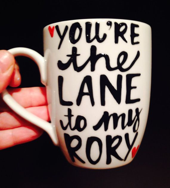 You're the Lane to my Rory |Gilmore | obsessed- lorelai- rory- Gilmore Girls coffee mug- Gilmore Girl - Lane best friends