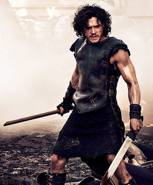 Kit Harington in Pompeii. Officially the only reason to see this movie. I mean, it's not like you don't know what's gonna happen.