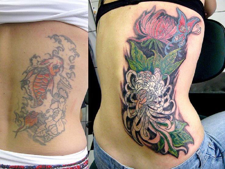 88677ccfdf10d Flower Cover Up Tattoo Designs | Gardening: Flower and Vegetables