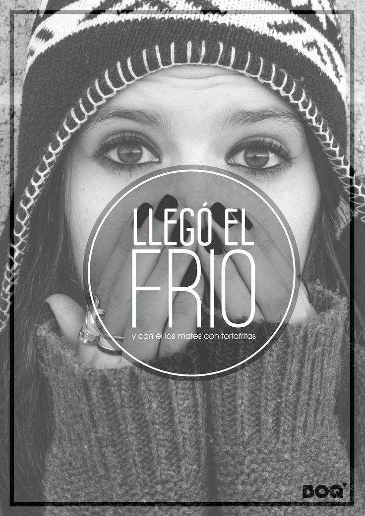 #typography #photography #tipografía #foto #boq #neuquen #argentina #mujer #women #hands #expresiones #frio #mates #tortasfritas #cold #design #diseño