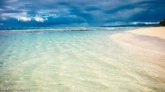 Kooks Beach in Maui Paia, Hawaii. Great hidden beach with crystal clear, blue waters.