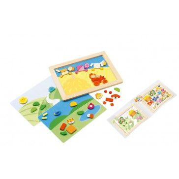 Sevi Magnetic Puzzle Farm - Art & Magentic Play - Products