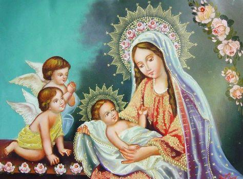 Oración a la Virgen de la Divina Providencia para tener Dinero, Suerte, Abundancia y Prosperidad Oh María Santísima de la Divina Providencia, bondadosa Seño