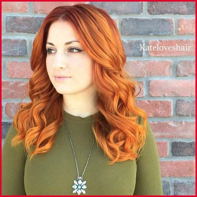 Fresh Bright Copper Hair Color Collection Of Hair Color Trends