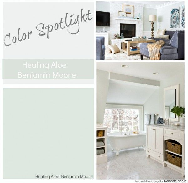 Benjamin Moore Soothing Aloe Love This Color Home Improvements Pinterest House Colors And Room