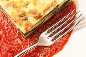 Magdalenka.cz » Recept » Lasagne se špenátem