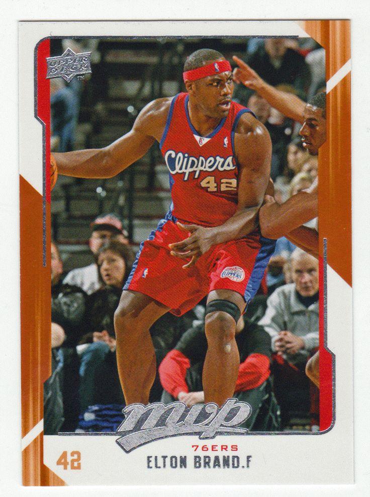 Elton Brand # 63 - 2008-09 Upper Deck MVP Basketball