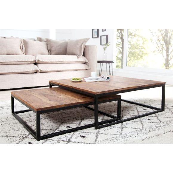 Chloe Design Table Basse Design Fusio Ii Bois Fonce Pas Cher Achat Vente Tables Basses Table De Salon Table Basse Table Basse Design