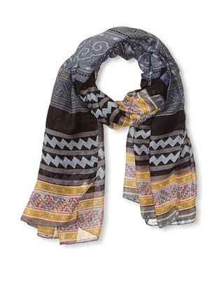 58% OFF Jules Smith Women's Hipster Scarf, Blue/Grey