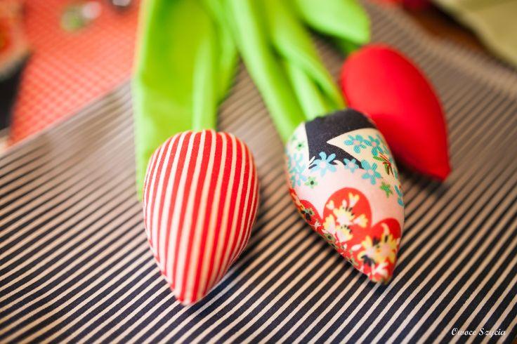 #owoceszycia fabric flowers; sewed tulipsl; sewing workshops