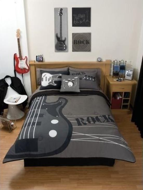Musical Themed Bedding And Bedroom Décor