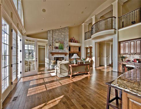 Living room in cape cod shingle style by gelotte hommas for Cape cod open floor plan