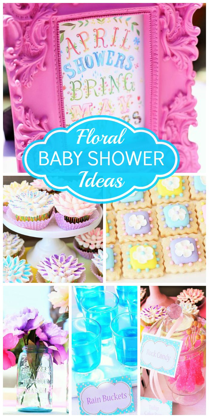 and blue baby shower the theme is april showers brings may flowers