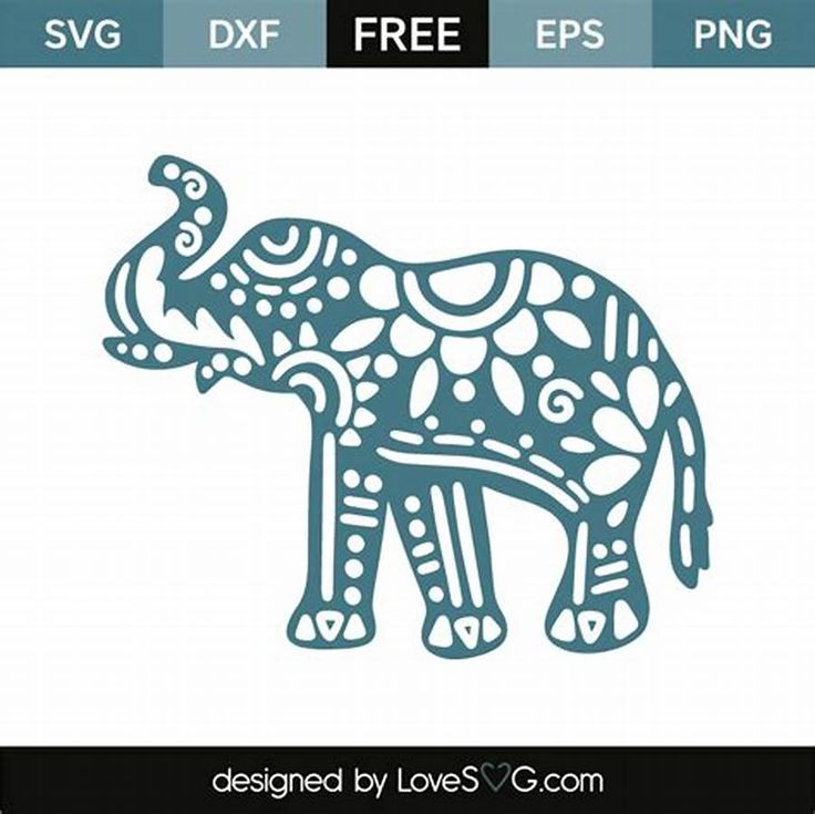 Download See the source image | Cricut elephant, Elephant stencil ...