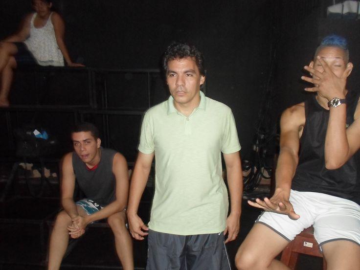 Luxã Nautilho participa da Oficina de Teatro com o instrutor José Clemente na Fundação Curro Velho em Belém nos meses de agosto e setembro de 2014