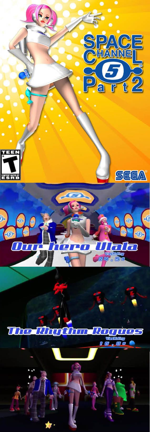 #RetroGamer #SpaceChannel 5 Part 2 lets you relive this rhythm game! #Ulala #Sega #Dreamcast http://www.levelgamingground.com/space-channel-5-part-2-review.html