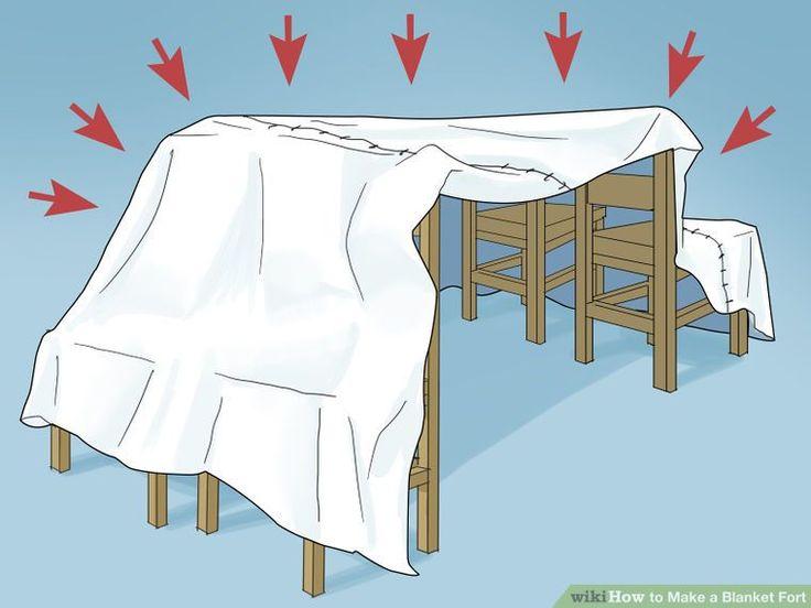 Image titled Make a Blanket Fort Step 6