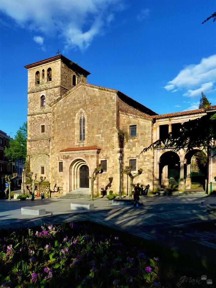 San Francisco church, Avilés, Asturias, Spain