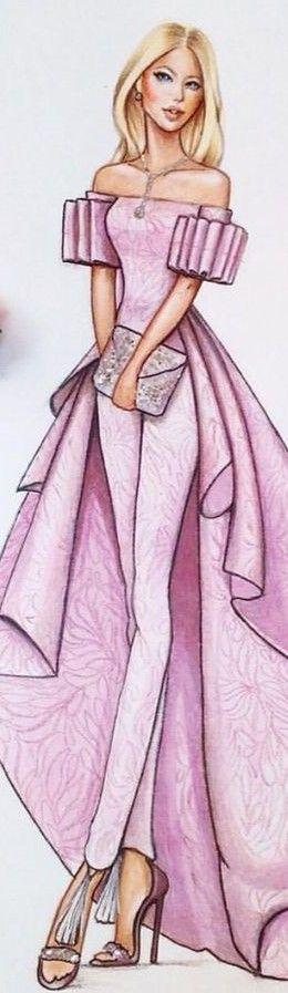 Delyais  Fashion Illustration