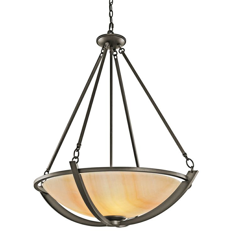 The 133 best mission asian pendant lighting images on pinterest carthage inverted pendant 3 light shown in olde bronze by kichler lighting 42616oz aloadofball Image collections