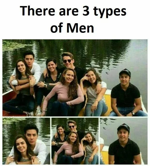 3 types of men https://www.facebook.com/461057557604005/photos/a.461061024270325.1073741828.461057557604005/516200625423031/?type=3&theater #bluechipentertainment #funny #funnypics #Entertainment #entertainmentweekly #Entertainment_Weekly #fun #funfact #hilarious