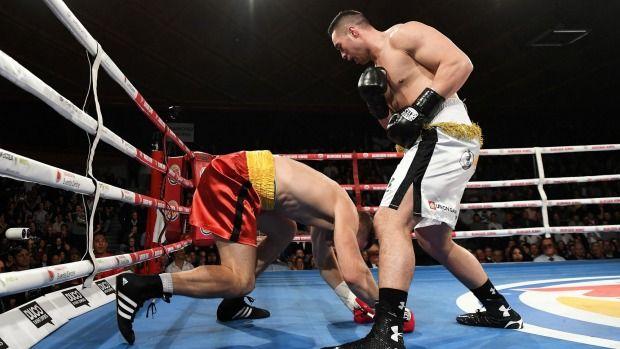 Heavyweight legend Big George Foreman says Joseph Parker 'a top contender' - Taranaki Daily News