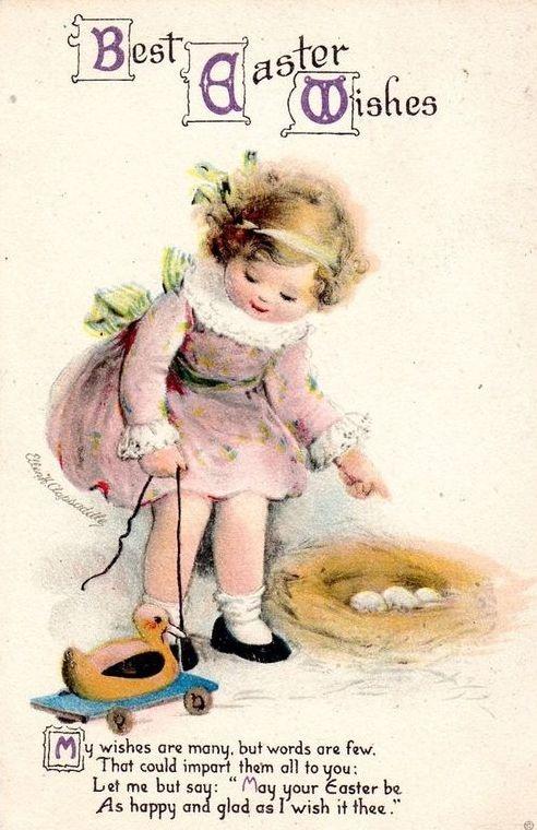 Vintage Images: Easter postcards