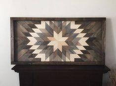 wood wall art, wooden sunburst