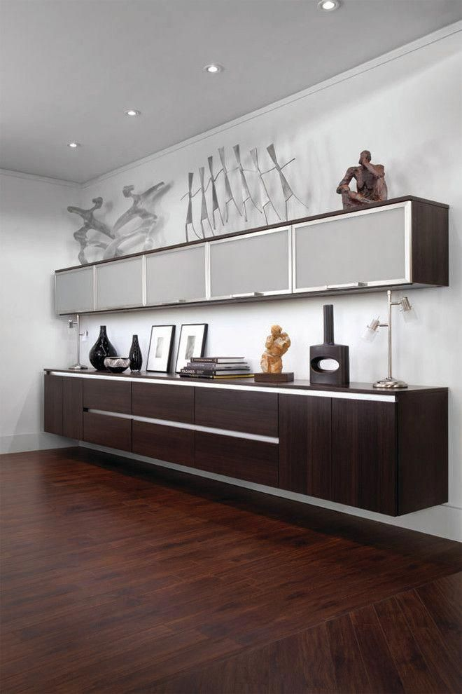 Glamorous Office Credenza In Home Office Modern With Lift Up Cabinet Doors Next To Wall Mounted Cabinet Alongside Floating Cabinets And Ikea B Home Office Design