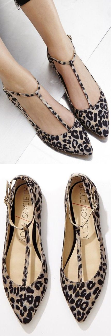 cUte leopard flats for spring