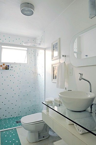 17 Best images about Banheiros on Pinterest  Bathrooms decor, UXUI Designer -> Banheiro Co Pastilha