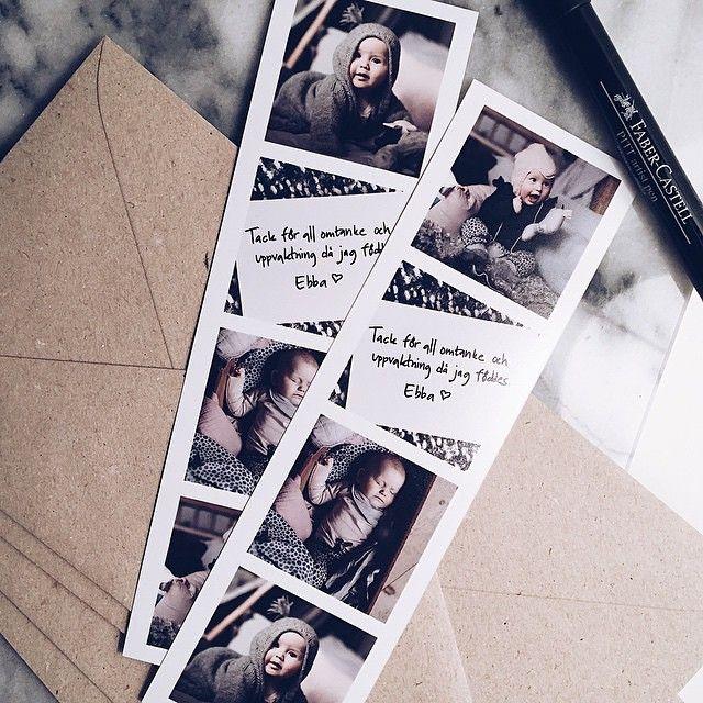 Fint sätt att använda fotoremsor på av @krinn! www.printasquare.com/fotoremsor #fotoremsa #fotoremsor #hälsning #inspiration #framkalla