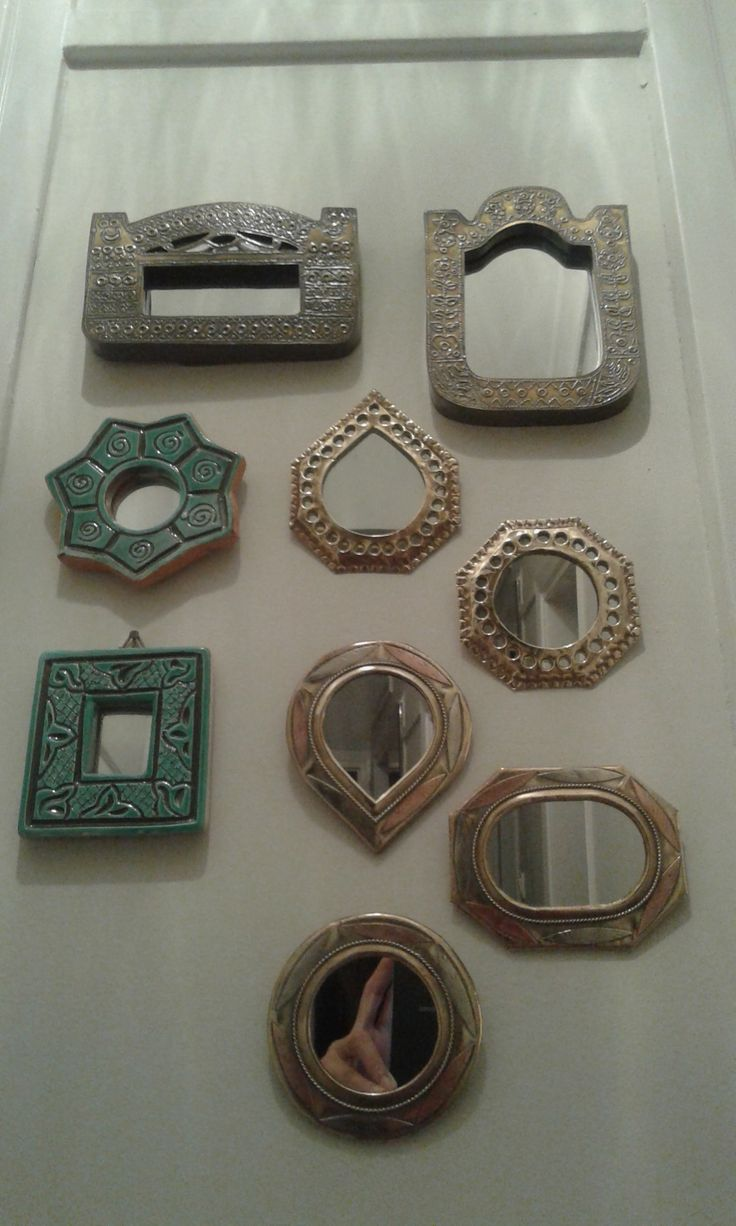 My tiny mirror collection!