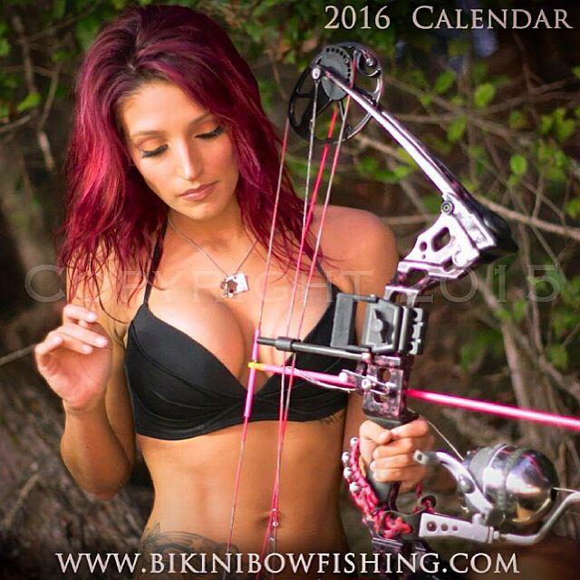 bikini bowfishing calendar-#26