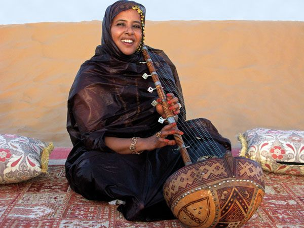 mauritanian ardin harp