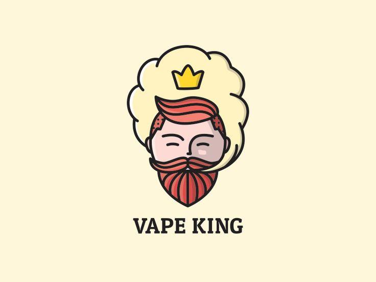 Vape King by last spark #Design Popular #Dribbble #shots