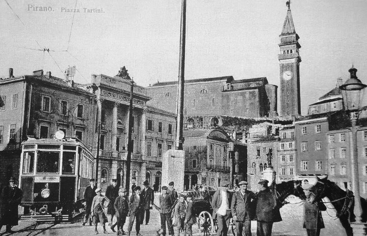 Piran. Postcards from the past