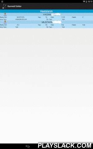 Karmed Doktor  Android App - playslack.com ,  KarMed Otomasyonlarının yüklü olduğu hastanelerde Doktorların hastaya yanında işlem yapmalarında kolaylık sağlayacak Mobil uygulamadır. Hastane ve Doktorların isteklerine göre sürekli güncellenen uygulamamız Dijital Hastane platformu adı altında teknolojiye ayak uydurarak hasta işlerinin daha kısa sürede yapılmasına olanak tanır. karmed Automation is geïnstalleerd naast de patiënt van de artsen in de ziekenhuizen om mobiele trading applicatie te…